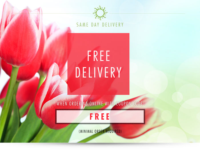 Order Online for Free Flower Delivery